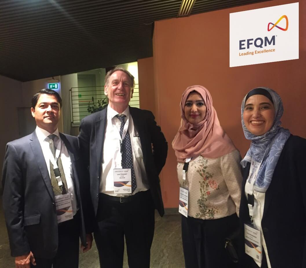 DQG team at EFQM Forum 2016